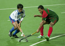 8th Men's Asia Cup 2009 Japan vs Bangladesh Royalty Free Stock Image