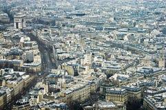 8th Quartier at Paris, France Royalty Free Stock Photos