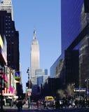 8vo Avenida New York City Imágenes de archivo libres de regalías