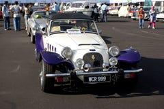 8vo Vendimia del kilolitro y concurso clásico del coche Fotografía de archivo