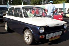 8vo Vendimia del kilolitro y concurso clásico del coche Foto de archivo