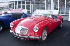 8vo Vendimia del kilolitro y concurso clásico del coche Imagen de archivo