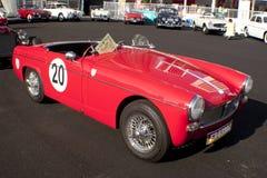 8vo Vendimia del kilolitro y concurso clásico del coche Fotos de archivo
