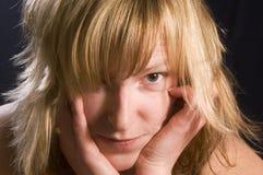9η μαύρη έκφραση Νανσύ Στοκ εικόνες με δικαίωμα ελεύθερης χρήσης
