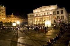 9ο φεστιβάλ Λειψία ελαφρ Στοκ Εικόνες