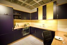 9个厨房现代新的缩放比例 库存照片