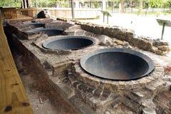 9个古色古香的磨房工作 免版税图库摄影