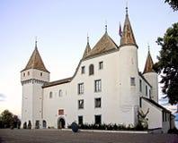9个城堡瑞士 图库摄影