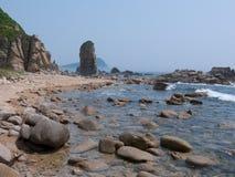 9个岩石海运 库存照片