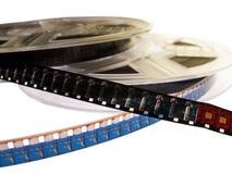 9个影片轴系列 免版税库存照片
