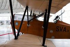 9个航空器ansaldo sva 库存图片