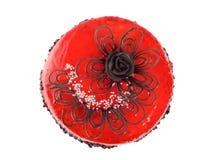 9个蛋糕巧克力查出的JPG 免版税库存图片