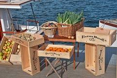 9位农夫浮动的市场11月西雅图 库存图片