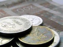 9名克罗地亚人货币 库存照片