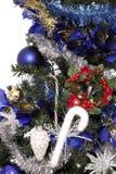 9圣诞树 库存照片