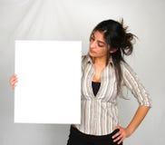 9女实业家 免版税图库摄影