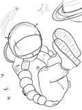 9宇航员 免版税库存图片