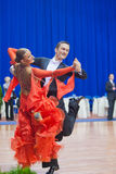 9对成人比拉罗斯夫妇跳舞米斯克10月 免版税库存图片