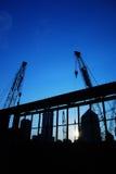 9建筑机械 图库摄影