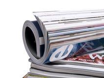 9本杂志 免版税库存图片