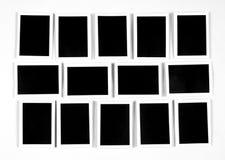 9模板 免版税图库摄影