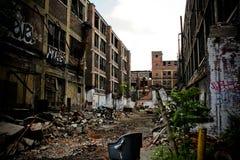 9被放弃的工厂packard 图库摄影