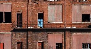 9 övergiven fabrik Royaltyfri Foto