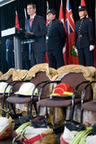 9 μνημείο πυρκαγιάς 11 μαχητών Στοκ φωτογραφία με δικαίωμα ελεύθερης χρήσης