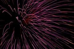 9 πυροτεχνήματα Στοκ φωτογραφία με δικαίωμα ελεύθερης χρήσης