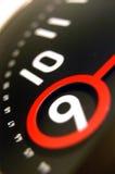 9 ρολόι ο Στοκ Φωτογραφία