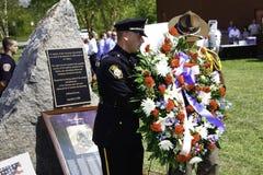 9 венок presenation 11 церемонии мемориальный Стоковое Фото