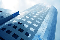 9 зданий корпоративных Стоковое фото RF