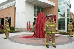 9 мемориал пожара 11 самолет-истребителя Стоковые Фото
