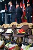 9 мемориал пожара 11 самолет-истребителя Стоковая Фотография RF