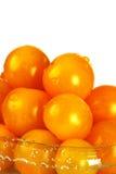 9 томатов вишни Стоковые Фотографии RF