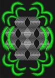 9 эскизов patten Стоковые Изображения RF