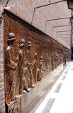 9 11忘记,唯恐墙壁 免版税图库摄影