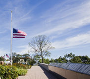9/11 αναμνηστικό πάρκο Στοκ φωτογραφίες με δικαίωμα ελεύθερης χρήσης