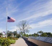 9/11 мемориальных парков Стоковые Фотографии RF