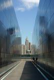 9-11 мемориал Стоковые Фото