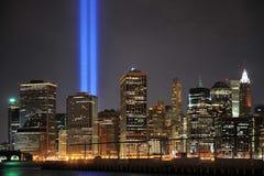 9 11 2010 manhattan Стоковое Изображение RF