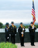9/11 Ceremonie van Herinnering Stock Fotografie