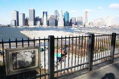 9/11 decimo di anniversario Fotografie Stock