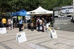 9/11 Demonstratie, Canada (11 September 2009) Stock Foto's