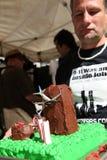 9/11 demostración, Canadá (el 11 de septiembre de 2009) Foto de archivo libre de regalías