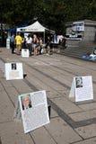 9/11 demostración, Vancouver (el 11 de septiembre de 2009) Fotografía de archivo libre de regalías