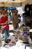 9/11 demostración, Vancouver (el 11 de septiembre de 2009) Fotografía de archivo