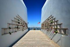 9/11 Gedenkteken Stock Fotografie