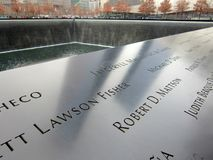 9/11 Gedenkteken Royalty-vrije Stock Foto