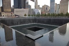 9-11 herdenkings Stock Foto's